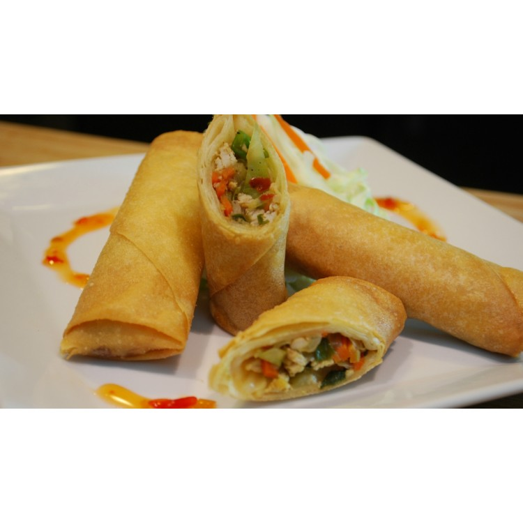 Chicken and Vegetable Sring Rolls 60g